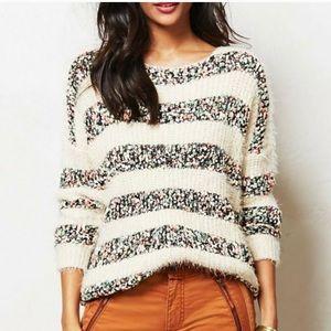 Anthropologie La Fee Verte Confetti Knit Sweater